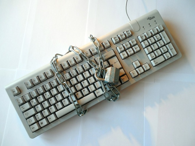 Locked Keyboard