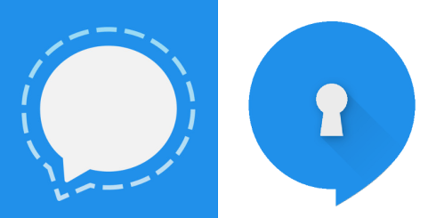 Signal (formerly TextSecure) for iOS & Android Respectively