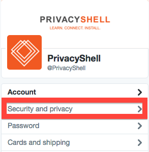 Twitter Security & Privacy